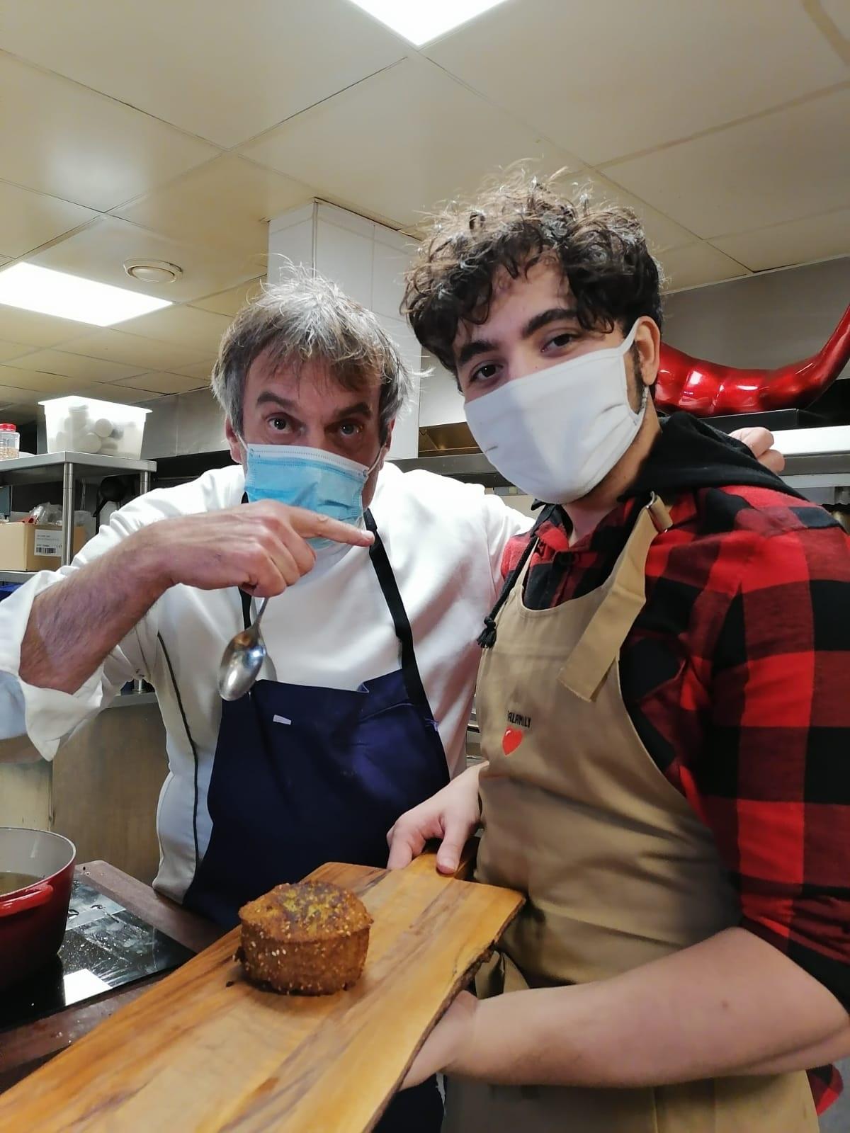 Récit de la rencontre entre Chef Damien et Moutaz pour Tout Le Monde à Table !